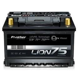 Panther LifePo4 batterij 12 Volt 75 Ah 960Wh