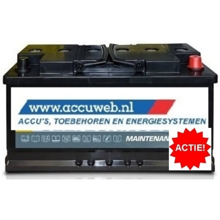 AxiWin professional AGM semi-tractie / solar accu: 95803 AGM, 12V 95Ah