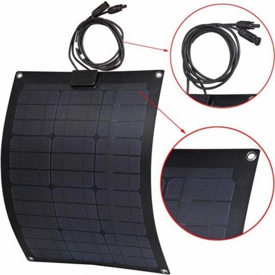 LENSUN Flexibel Black Zonnepaneel  50 Watt