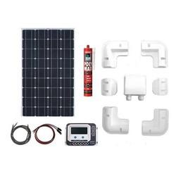 Zonnepaneelset Enjoy Solar compleet 330 Watt 12 Volt