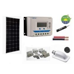 Enjoy Solar Zonnepaneelset compleet 180 Watt 12 Volt  Monokristallijn