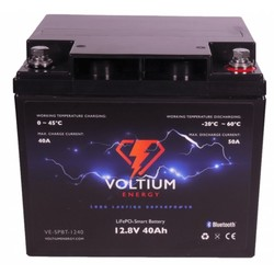 Voltium LiFePO4 Lithium Batterij 12,8 Volt 40Ah 512Wh