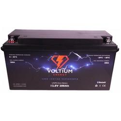 Voltium LiFePO4 Lithium Batterij 12,8 Volt 200Ah 2560Wh