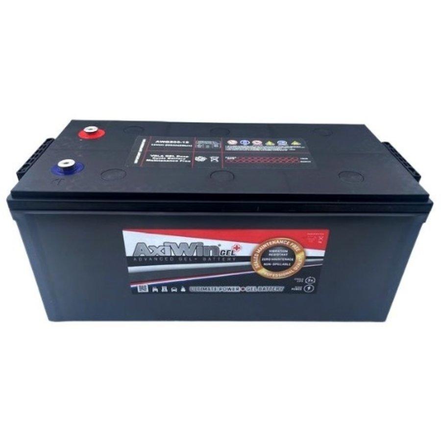 Axiwin Professional Dual purpose GEL battery 12V 230Ah