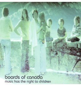 Warp Records Boards Of Canada - Music Has The Right To Children