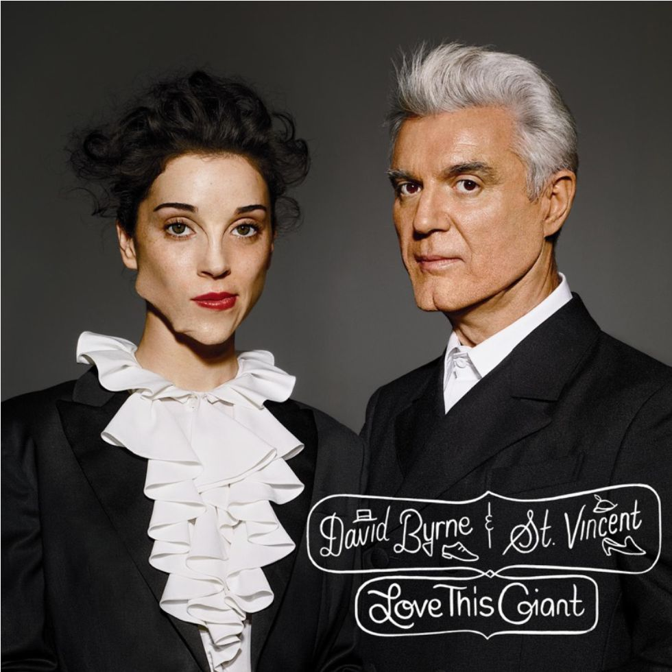 4AD David Byrne/St Vincent  - Love This Giant