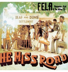 Knitting Factory Records Fela Kuti - He Miss Road