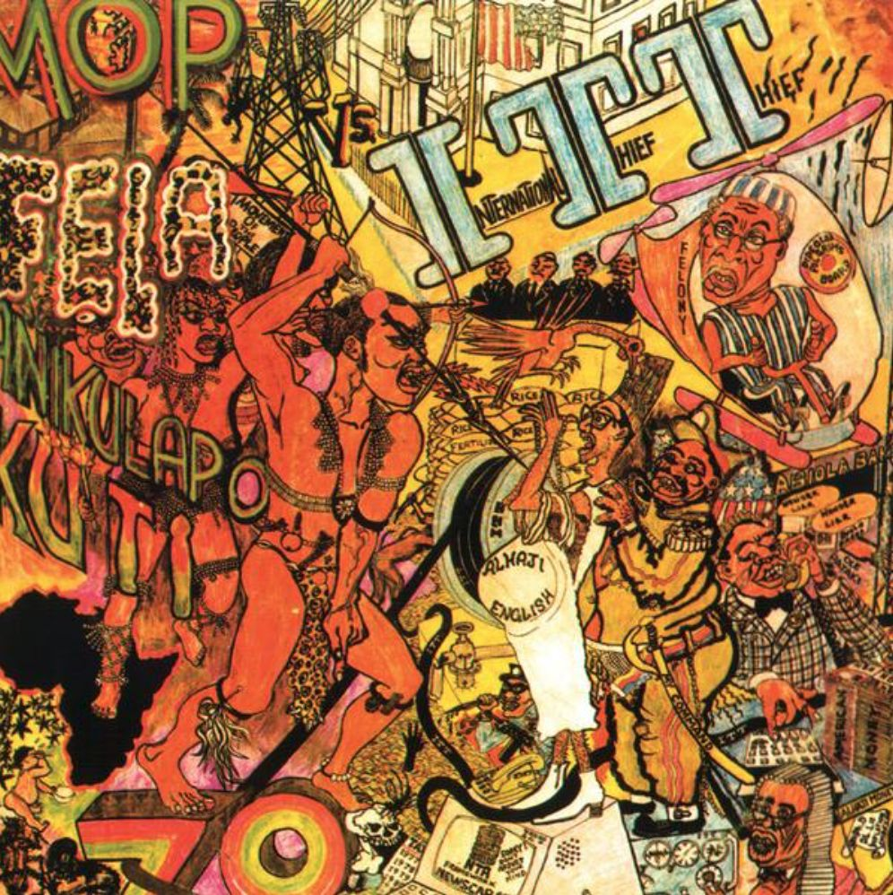 Knitting Factory Records Fela Kuti - I.T.T. (International Theif Theif)