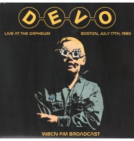 Bad Joker Records Devo - Live At The Orpheum Boston, 1980