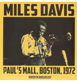 Bad Joker Records Miles Davis - Paul's Mall, Boston, 1972