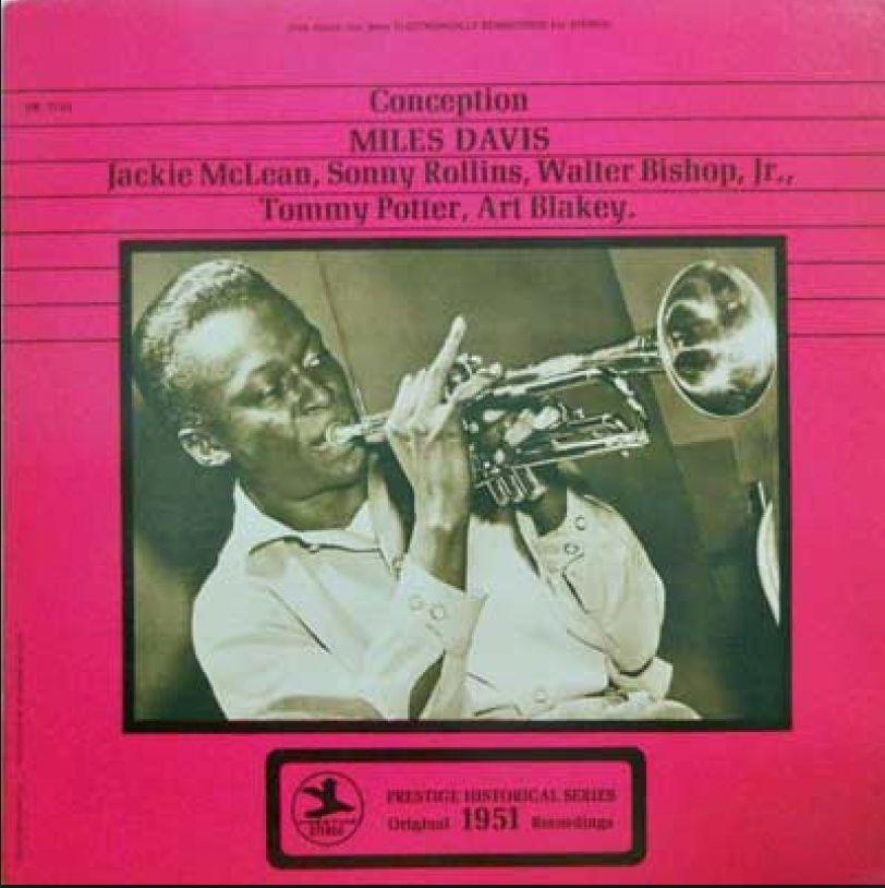 Cornbread Records Miles Davis - Conception