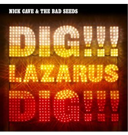 Mute Records Nick Cave & The Bad Seeds - Dig, Lazarus, Dig!!!