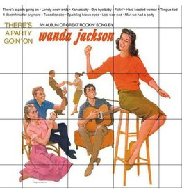 Cornbread Records Wanda Jackson - There's A Party Goin' On