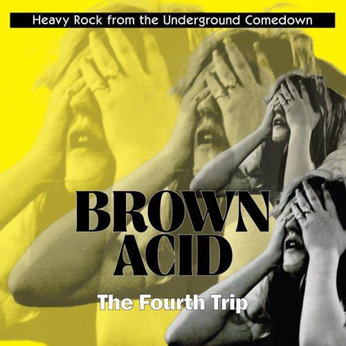 Riding Easy Records Various - Brown Acid: The Fourth Trip