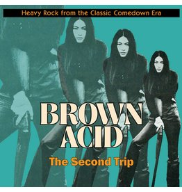 Riding Easy Records Various - Brown Acid: The Second Trip