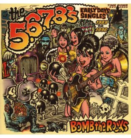 Sweet Nothing Records 5.6.7.8's - Bomb The Rocks: Early Day Single