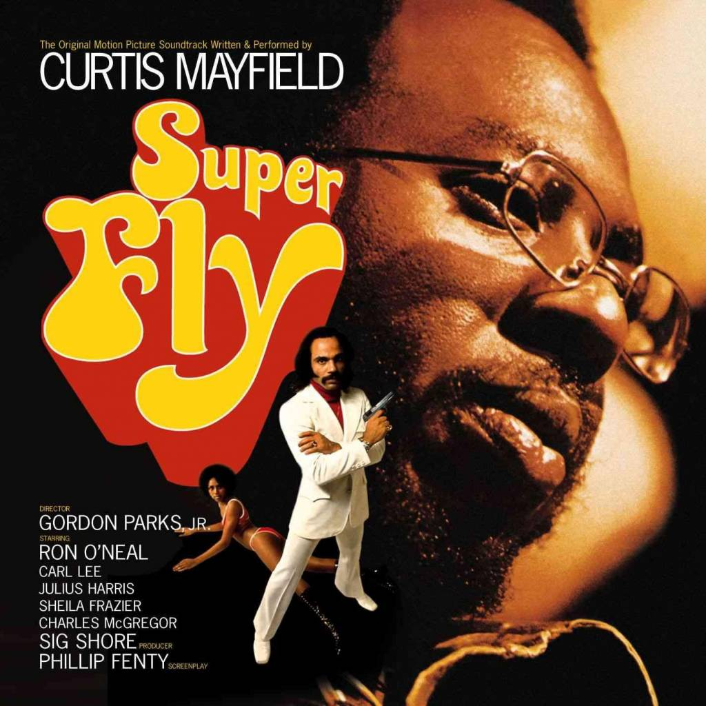 Curtom Records Curtis Mayfield - Superfly