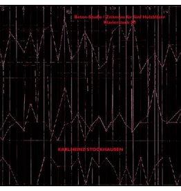 Modern Silence Karlheinz Stockhausen - Beton-Studie / Zeitmass Fur Funf / Klavierstuck
