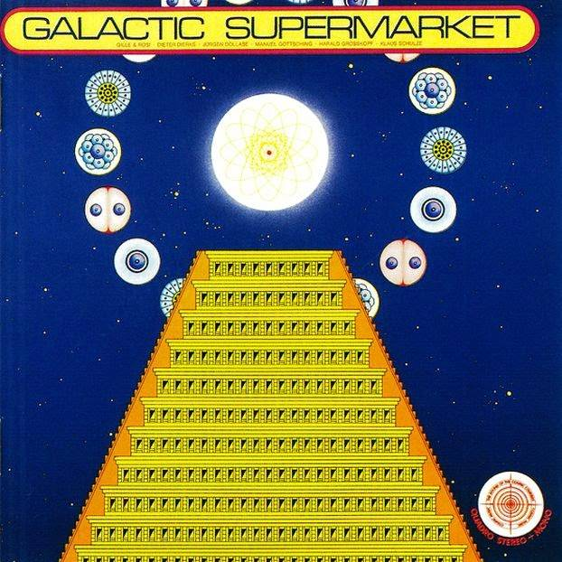 Victory Records Cosmic Jokers - Galactic Supermarket