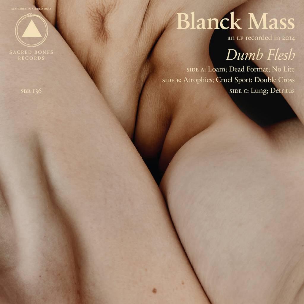 Sacred Bones Records Blanck Mass - Dumb Flesh (Signed Copy!)