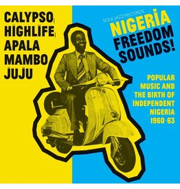 Soul Jazz Records Various - Nigeria Freedom Sounds