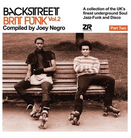 Z Records Various - Backstreet Brit Funk Vol. 2: Part 2