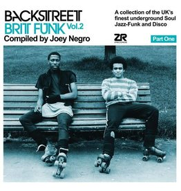 Z Records Various - Backstreet Brit Funk Vol. 2: Part 1