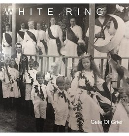 Rocket Girl White Ring - Gate Of Grief