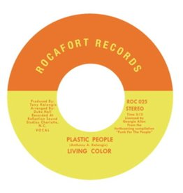 Rocafort Records Living Color - Plastic People