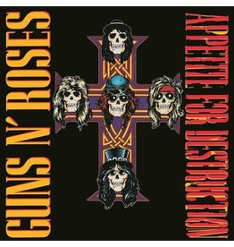 Universal Music UK Guns N' Roses - Appetite For Destruction