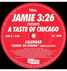 BBE Calendar / Braxton Holmes - Comin' On Strong / Stomps & Shouts (Jamie 3:26 Edits)