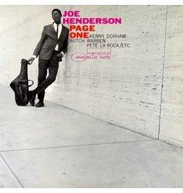 DOL Joe Henderson - Page One