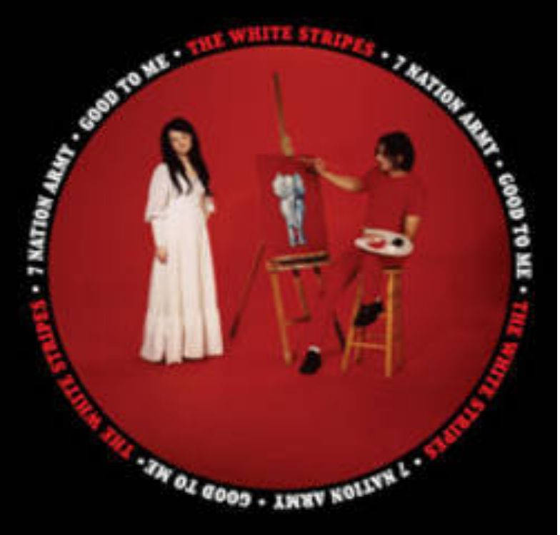Third Man Records The White Stripes - Seven Nation Army