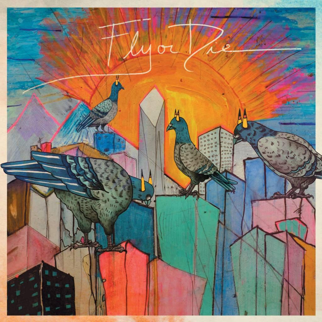 International Anthem Jaimie Branch - Fly or Die SIGNED