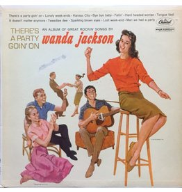 Wax Time Records Wanda Jackson - There's A Party Goin' On (+4 bonus tracks)