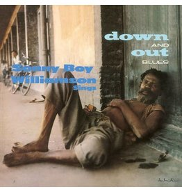 Macomba Records Sonny Boy Williamson - Down And Out Blues