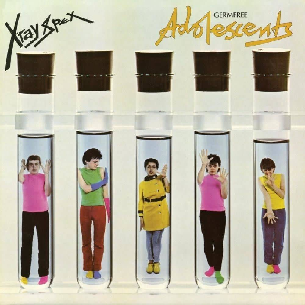 Real Gone Music X-Ray Spex - Germfree Adolescents (Clear Vinyl)