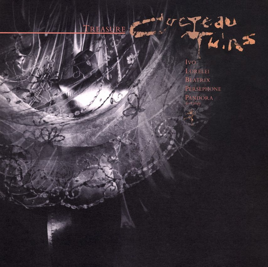 4AD Cocteau Twins - Treasure