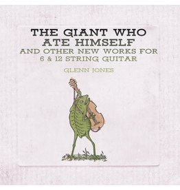 Thrill Jockey Glenn Jones - The Giant Who Ate Himself And Other New Works For 6 & 12 String Guitar (Coloured Vinyl)