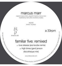 DFA Records Marcus Marr - Familiar Five: Remixed