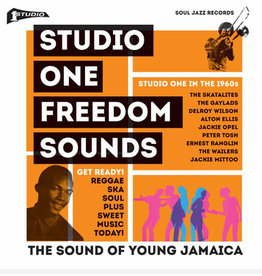 Soul Jazz Records Various - Studio One Freedom Sounds