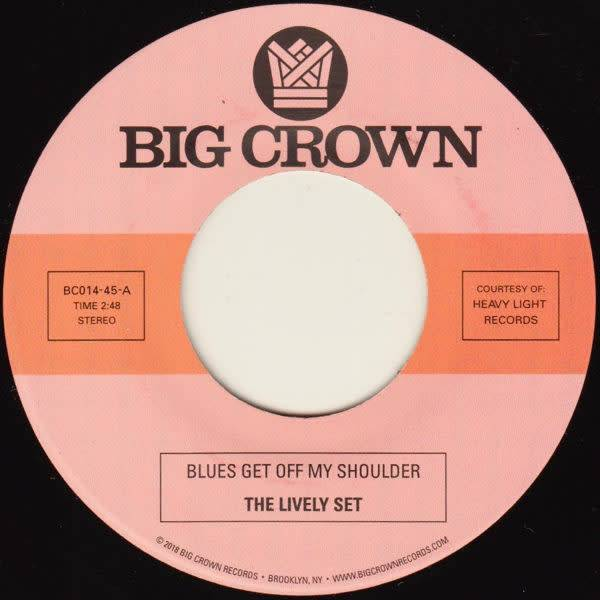 Big Crown The Lively Set / The Three Dudes - Blues Get Off My Shoulder / I'm Begging You