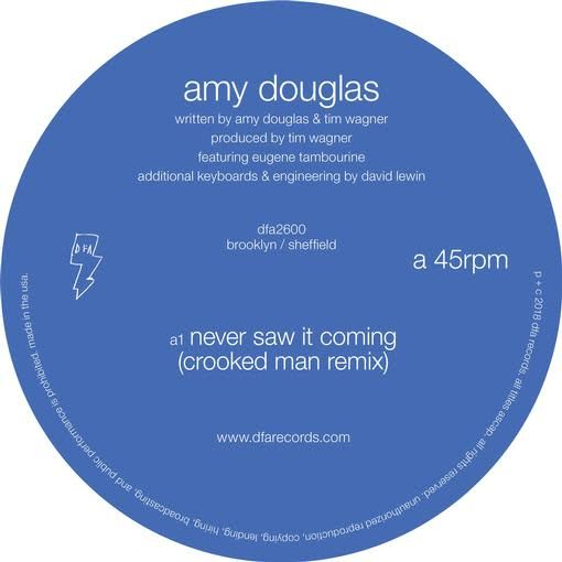 DFA Records Amy Douglas - Never Saw It Coming