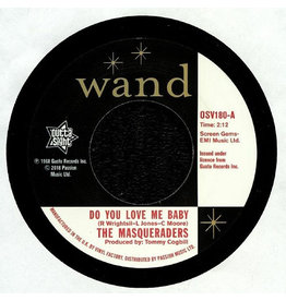 Outta Sight Records The Masqueraders / The Gentlemen Four - Do You Love Me Baby / You Can't Keep A Good Man Down