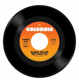 Expansion Records Gloria Taylor - Deep Inside You / World That's Not Real