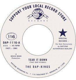 Daptone Records The Dap-Kings - Tear It Down (Feat. Sharon Jones) b/w The Collection Song