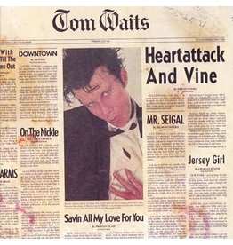 Anti Records Tom Waits - Heartattack And Vine (Coloured Vinyl)