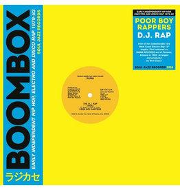 Soul Jazz Records Poor Boy Rappers - The D.J. Rap