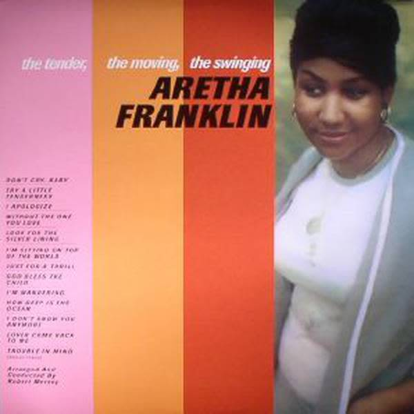 DOL Aretha Franklin - The Tender, The Moving, The Swinging...