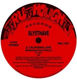Tru Thoughts Records Sly5thave - California Love / Shiznit